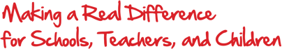 Making a real difference for schools, teachers and children